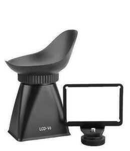 LCD Viewfinder V6 Displaylupe Sucher Augenmuschel für Canon EOS M