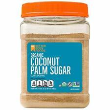 Organic Coconut Palm Sugar, Gluten-Free, Non-GMO Sweetener Substitute 1.5 lbs.
