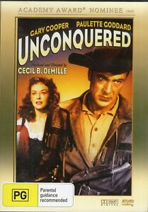 UNCONQUERED starring Gary Cooper (DVD, 2011) - LIKE NEW!!!
