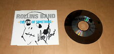 Henry Rollins, original signed CD-cover * the end of something * + CD