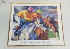 Peter Williams Signed 1999 125th Kentucky Derby Print 28x24