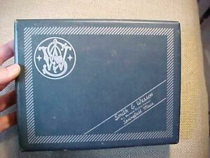 ORIGINAL VINTAGE SMITH & WESSON MODEL 39 PISTOL BOX ONLY 9MM