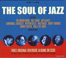 THE SOUL OF JAZZ - 3 ORIGINAL RIVERSIDE ALBUMS - VARIOUS ARTISTS (NEW 3CD)