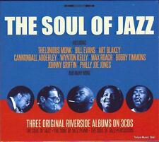 THE SOUL OF JAZZ - 3 ORIGINAL RIVERSIDE ALBUMS - VARIOUS ARTISTS (NEW 3CD)