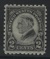 US Stamps - Sc# 612 - perf 10 Harding - Mint Never Hinged - VF           (K-633)