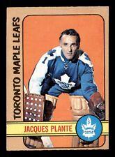 JACQUES PLANTE 72-73 O-PEE-CHEE 1972-73 NO 92 EXMINT+ 18054