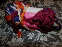 NEW ISAAC MIZRAHI CRAFT Irving Purple Blue Yarn Bulky Acrylic Wool 140 g