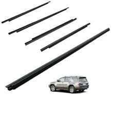 2003-2009 4Runner Door Belt Molding Weatherstrip (FRONT & REAR) (5PC SET) Toyota