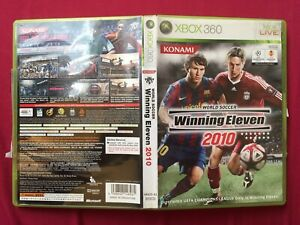 XBOX 360 WINNING ELEVEN 2010 NTSC-J TESTED WORLD FREE POST