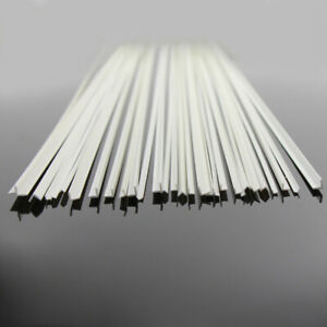 30PCS Styrene ABS Angles L-shaped Architectual 50cm for Model Layout ABS05