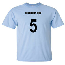 Birthday Boy 5th Fifth Five 5 Year Old Male Baby Shirt