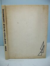 1963 I Wish You Could Have Been There, Danbury State College Danbury CT Yearbook