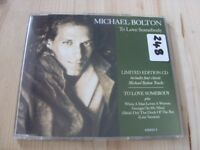 Michael Bolton:   To Love Somebody   NM CD single