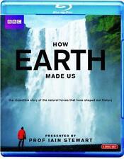 HOW THE EARTH MADE US - Iain Stewart BBC *NEW BLU-RAY*
