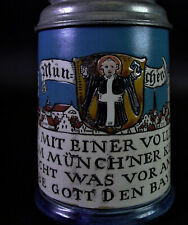 München - Münchner Kindl Bierkrug - Villeroy & Boch Mettlach 1901