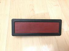 Fiat Spider Center Console Panel Radio Delete Plate rare 124 2000 Trim vintage