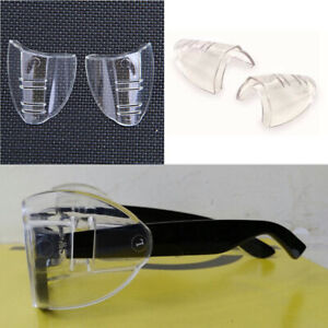 Glass Glasses Side Cover Glasses Protective Wings Transparent Protection Cover