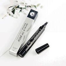 4 Colors Eyebrow Tat Liquid Pen Waterproof Fork Tip Microblading Ink Sketchs