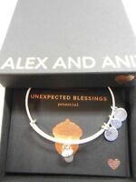 Alex and Ani UNEXPECTED BLESSINGS II Expandable Bracelet Rafaelian Silver NWTBC