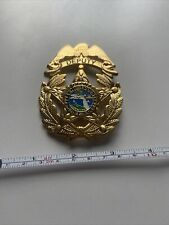 us police badge