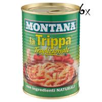 6x Montana Trippa Tradizionale Kaldaunen 420 g Kutteln Fleisch in dose italien