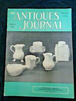 Antiques Journal 1962 Oct Staffordshire Saltglazes Jumping Jack Doll Bowie Knife