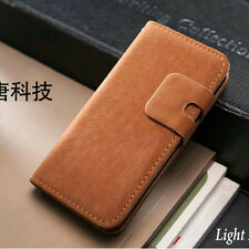 For Apple iPhone 4 5 5S Flip Wallet Case Cover Leather Free Screen Protector