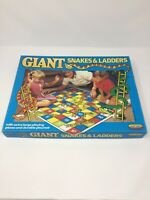 GIANT SNAKES & LADDERS by SPEAR'S GAMES 1989 100% COMPLETE VGC!