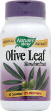 Olive Leaf, Nature's Way, 60 capsules Standardized Extract 20% Oleuropein