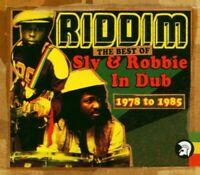 SLY & ROBBIE - RIDDIM: THE BEST OF SLY & ROBBIE IN DUB 2 CD NEU