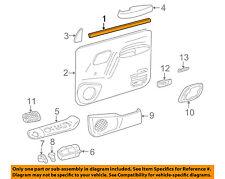 GM OEM Front Door-Reflector 15961884