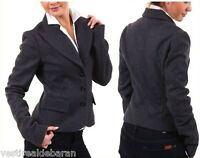 Giacca Blazer Donna SEXY WOMAN P911023 A489 Made in Italy Tg 40 42