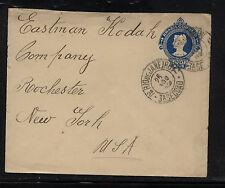 Brazil  postal envelope  200 r   to  Eastman  Kodak  Co    HD1201