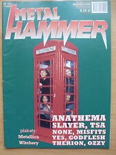 METAL HAMMER 11/2001 ANATHEMA,Slayer,None,Misfits,Yes,Godflesh,Therion,Ozzy