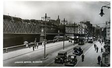 Jamaica Bridge Glasgow Motor Car sepia RP unused old pc National
