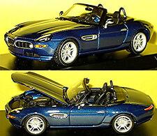 BMW Z 8 E52 2000-03 Blue Metallic 1:43 Minichamps