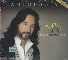 602537660926 - Marco Antonio Solis CD NEW Antologia Musical CON 4 CD's y 1 DVD