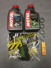 Beta Rev 3 Trials Service Kit 1 Motul Oil Air Filter Spark Plug Wheel Bearings