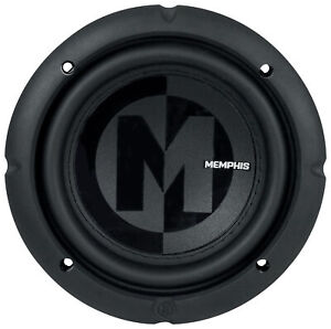 "Memphis Audio PRX624 6.5"" Car Subwoofer 300w Sub Selectable 2 or 4 ohm"