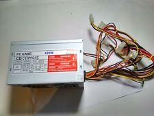 ELECTROSOFT PC CASE 420W ATX2.03 MODEL 300X CB PFC FUENTE DE ALIMENTACION