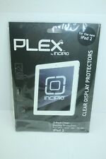 Plex by Incipio 2-Pack Clear Display Protector for IPAD 2_ US STOCK