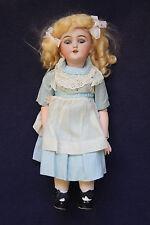 "16"" Simon & Halbig #1249 ""Santa"" Antique German Bisque Doll, Alice in Wonderland"