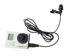 New Mini USB Microphone Professional Design for Gopro Hero3/3+/4 Camera Go Pro
