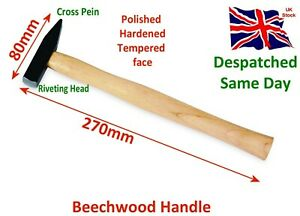 Riveting Hammers Square Head 80mm Wooden Handle Multi use Durable