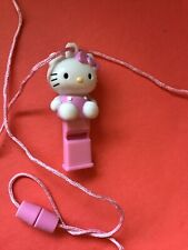 Vintage Hello Kitty Whistle pink with necklace '07