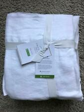 POTTERY BARN Belgian Flax Linen KING Sheets 4 Piece Set NEW - WHITE