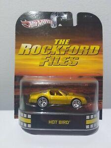2013 Hot Wheels Retro Entertainment Rockford Files Hot Bird - Pontiac Firebird