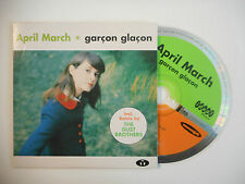 APRIL MARCH : GARCON GLACON ♦ CD SINGLE PORT GRATUIT ♦