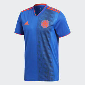 ADIDAS COLOMBIA AWAY JERSEY FIFA WORLD CUP 2018