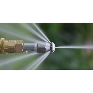 1/4'' Male Pressure Washer Drain Sewer Cleaning Pipe Jetter Rotating Nozzle